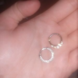 Jewelry - Two brand new septum piercings